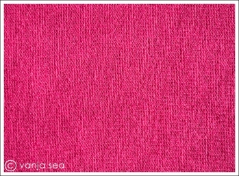 Organic Cotton Rib, hot pink