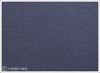 Organic Knitted Fabric, dark blue