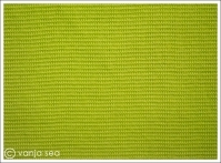 Organic Cotton Rib, lime green
