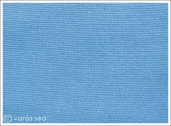 Organic Cotton Rib, blue